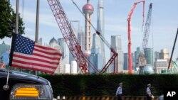 Nhiều doanh nghiệp Mỹ làm ăn ở Thượng Hải, Trung Quốc (ảnh chụp tháng 7/2019)