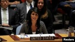 خانم هیلی نماینده آمریکا در سازمان ملل بارها از افزایش نظارت بر برنامه هسته ای ایران گفته است.