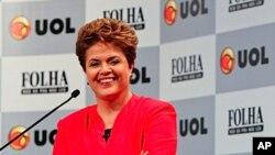 巴西新任总统迪尔玛·罗塞芙 (资料照片)