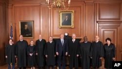 Predsjednik Trump i sudije Vrhovnog suda SAD