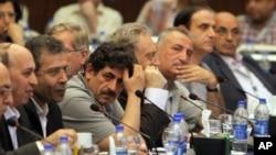 Египет, Каир. Конференция сирийской оппозиции 3 июля 2012 года.