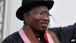 Shugaban Najeriya Goodluck Jonathan dan takarar PDP