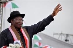 """Shugaba Goodluck Jonathan ya Amince da Tsayar da shi da PDP Tayi - 3'56"""""""