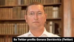 """Goran Davidović, pravosnažno oslobođeni vođa zabranjene neonacističke grupe """"Nacionalni stroj"""", preuzeto sa RSE"""