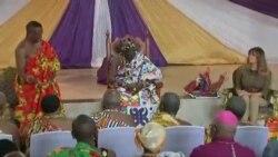 Le Ghana accueille Melania Trump (vidéo)