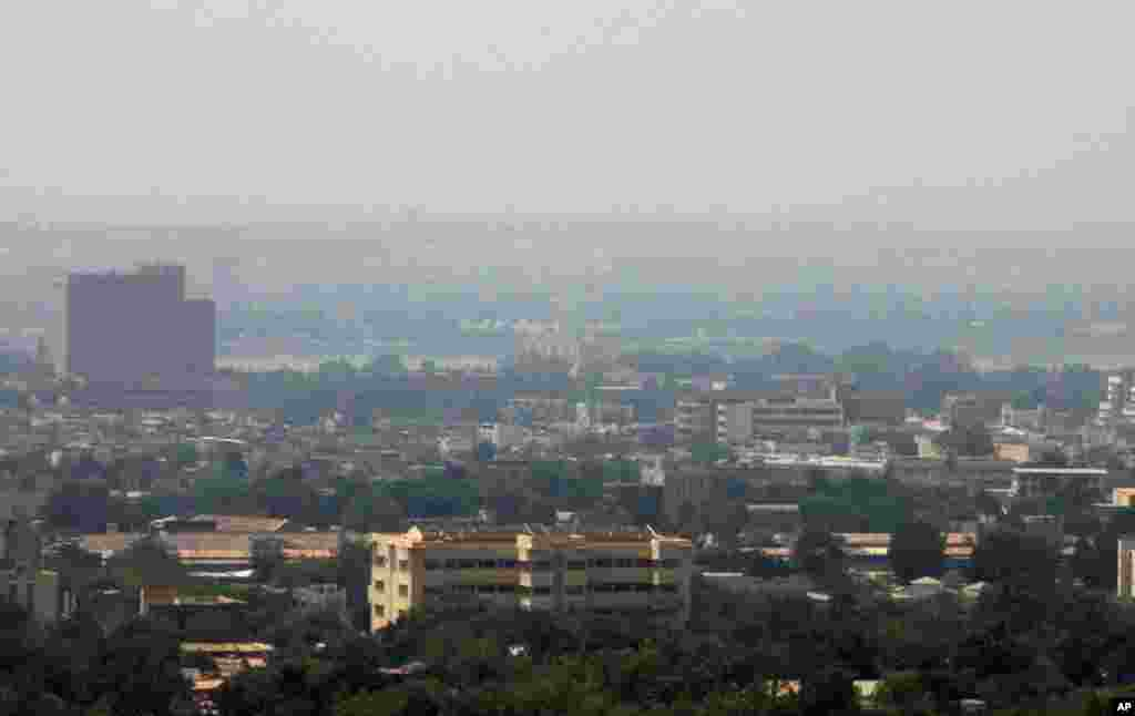 A view of Bamako, Mali, April 1, 2012. (Reuters)