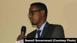 Abdullahi Siraji, ministre des Travaux publics somalien, a été tué par balles mercredi à Mogadiscio, Somalie. 3 mai 2017