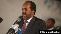 Presiden Somalia, Hassan Sheikh Mohamud (foto: dok).