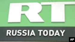 La televisora rusa RT dice que fue obligada a registrarse en EE.UU. como un agente extrnajero.