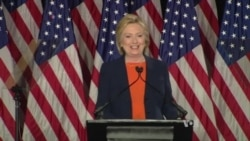 Clinton Calls Trump 'Temperamentally Unfit' For President