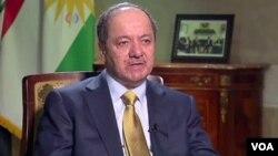 Presiden Kurdistan Masoud Barzani (foto: dok).
