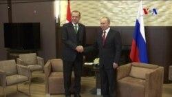 Erdoğan ve Putin 'Çatışmasız Bölge'de Uzlaştı
