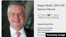 Координатор правительства Германии по трансатлантическому сотрудничеству Юрген Хардт