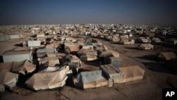 Лагерь сирийских беженцев в Иордании.