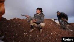 Сирійські повстанці в районі Алеппо