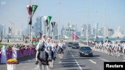 Vue du Qatar