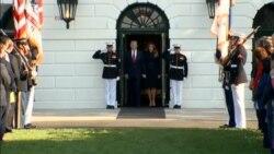 U.S. President Donald Trump Marks 16th Anniversary of 2001 September 11Attacks, In Silence