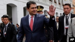 Diversas actividades contempla la visita del presidente de Honduras, Juan Orlando Hernández, a EE.UU.