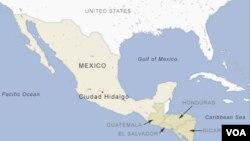 Peta Meksiko.
