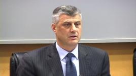 Thaçi: Jo bisedime të drejtpërdrejta me Serbinë