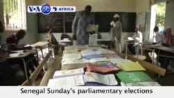 VOA60 Africa - Counting of votes continues in Senegal following Sunday's parliamentary elections