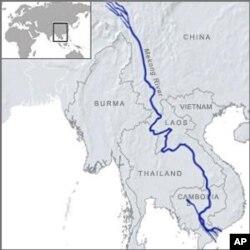 澜沧江/湄公河流经中国和东南亚五国