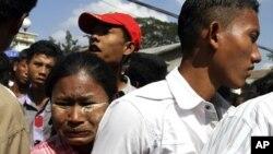 緬甸早前釋放囚犯。
