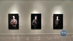Лінія фронту – Мирне життя: Виставка американської ветеранки про українських добровольців. Відео