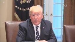 Trump revisa comentarios hechos en Helsinki