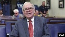 Milyarder AS Warren Buffett mendesak dihapuskannya keringanan pajak bagi warga terkaya AS.