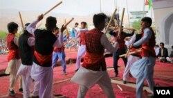 بامیان سالانه شاهد برگزاری چندین برنامۀ فرهنگی و هنری است