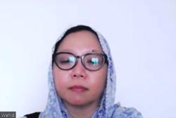 Aktivis yang juga putri sulung Gus Dur, Alissa Qotrunnada Munawaroh Wahid. (Foto: VOA/Nurhadi Sucahyo)