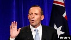 澳大利亚总理阿博特(资料照片)