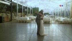 Իսրայելացի զույգը ամուսնացել է դատարկ դահլիճում՝ հեռարձակելով հարսանյաց արարողությունը