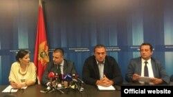 Konferencija za novinare Uprave policije (gov.me)