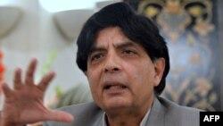وفاقی وزیر داخلہ چوہدری نثار علی خان (فائل فوٹو)