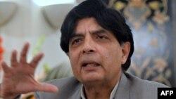 وزیر داخلہ چودھری نثار