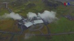 Karbon dioksidi daşa çevirən texnologiya