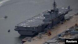 """日本海上自卫队的最新直升机航母""""加贺号"""" - 资料"""