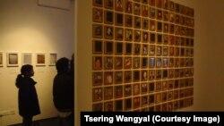 2015年藏人自焚圖片展。