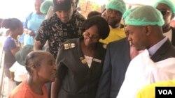Umkhokheli webandla eliphikisayo ele MDC uMnu. Nelson Chamisa