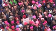 Marcha de Mujeres en Washington supera expectativas