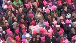 Marcha de Mujeres en Washington supera expectativas