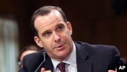 Brett McGurk, utusan khusus presiden AS untuk koalisi sedunia melawan ISIS. (Foto: dok).