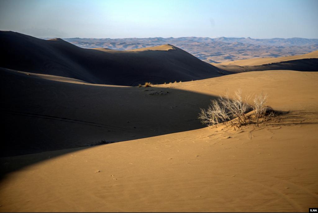 کویر مرنجاب در استان اصفهان عکس: مصطفی معراجی