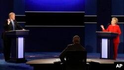 Дональд Трамп и Хиллари Клинтон. Дебаты. 26 сентября 2016 г.
