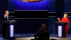 US Election – First Debate မွ အီဒီယံအသံုးအႏႈန္းမ်ား