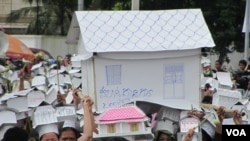 Victims of Dey Krahorm Eviction Hold 7th Anniversary