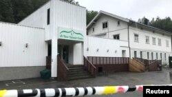 Masjid al-Noor Islamic Centre di Sandvika, Norwegia, 11 Agustus 2019.