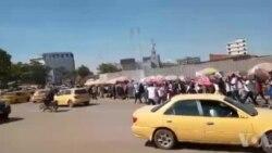 Marche na contre-marche mpo na Kamerhe na Lubumbashi